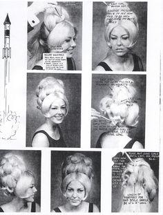 Hair Style. 1960's