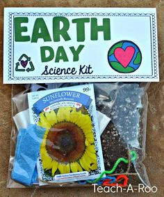 Another awesome Send Home Science kit. This one is all about the Earth! Perfect for April!
