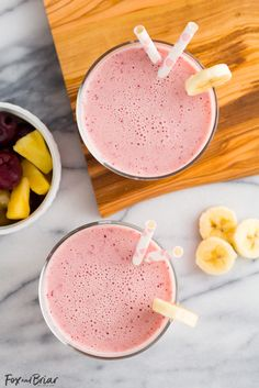 This Post Workout Smoothie is the perfect drink to recharge after a tough workout! Chock full of ingredients to replenish your body.