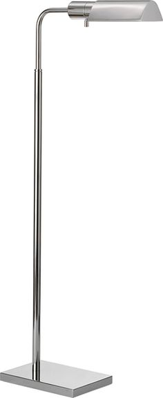 Height: 34 - 45 Adjustable Extension: 13 Base: 6 x 9 Shade: 3 1/2 x 6 x 2 Wattage: 1 - 60 Watt Type T Socket: Dimmer Switch $315