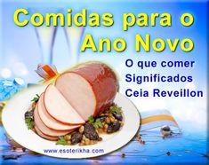 comidas para o ano novo - reveillon
