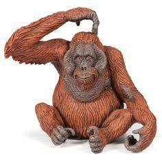 Orangutan Papo   Wordlwide Shipping www.minizoo.com.au
