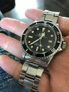 Featuring the Rolex 1665 Double Red Sea Dweller. This watch is part of our Vintage Private Rolex Collection. Mark 4, Sea Dweller, Vintage Rolex, Red Sea, Luxury Handbags, Omega Watch, Candy, Watches, The Originals