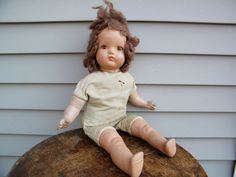 Creepy Doll / Collectable Doll / Composition by assemblage333, $24.00