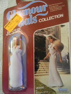 Glamour gals- My sister's collection :D i remember the dress most :P