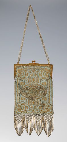 Purse, Evening  Date: 1900–1910 Culture: French
