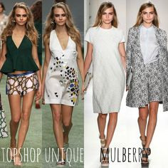 confessions of a style cookie: london fashion week | mulberry vs. topshop unique