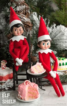 Scout elves have a sweet tooth! | Elf on the Shelf Ideas
