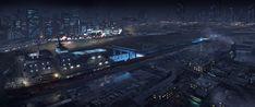Spaceship concepts by Eric Felten