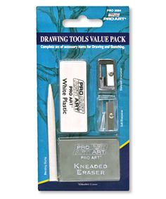 Drawing Tools Value Pack - A complete set of 5 accessory items for drawing and sketching.