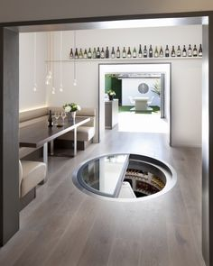 integrated trap doors for cellars - Google Search