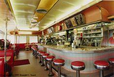 Old Diner Inside