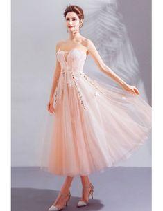 Fairy Butterfly Tulle Tea Length Party Dress Off Shoulder Wholesale #T69021 - GemGrace.com Girls Bridesmaid Dresses, Prom Dresses, Formal Dresses, Tea Length, Off The Shoulder, Party Dress, Tulle, Fairy, Butterfly