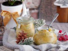 Skandynawskie śledzie w sosie miodowo-musztardowym Honey Mustard, Camembert Cheese, Curry, Menu, Pudding, Dishes, Cooking, Ethnic Recipes, Desserts