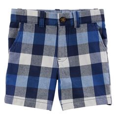 Toddler Boy Carter's Plaid Shorts, Size: 5T, Ovrfl Oth