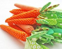 fabric carrot, easter decor