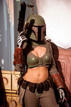 I love this Boba Girl Costume!