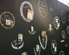 chalkboard banner decals