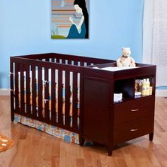 26 Best Convertible Crib With Changing Table Images In