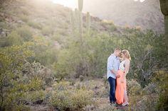 Arizona Desert Engagement Session