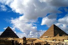 Great Pyramids of Giza The two largest pyramids and Sphinx enjoy a visit to discover the Giza Plateau and Giza pyramid complex