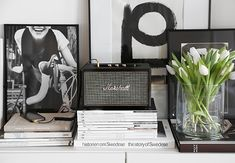 Marshall Acton speaker in the Trendenser office Marshall Acton, Marshall Stanmore, Room Inspiration, Interior Inspiration, Decorating Your Home, Interior Decorating, Nordic Design, Scandinavian Interior, Home And Living