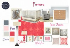 Dablet does Olio-Nursery by kdsessoms | Olioboard  Child's Room Design Contest entry- Sponsored by: @Wayfair.com  and Judged by: Erika Johnson of Radiant Republic June 2012