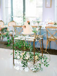 The Prettiest Pastel Wedding Inspiration at Diamond Bar Center | Shoes : @BellaBelleShoes  Photography: @etherandsmith  Linens: @latavolalinen  Officiant, DJ, & Emcee: @roberthilo  Design, Planning, & Stationery/Calligrapher: @lovinglyyoursweddings  Catering & Alcohol: @canyoncatering  Florist: @morganwynia  Vintage Rentals: @etablirshop  Linens: @luxe_linen  Dress: @eddykbridal  Tux: @friartuxshop  Veil: @TheVeiledBeauty  Cake Topper: @Jessi_Creations  Vow Books: @elmopaper  Vintage Rentals: @o