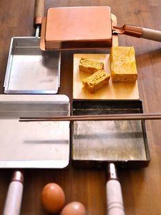 Kitchen Tool : 新生活に揃えたい、キッチンツール/「丸新銅器」の「玉子焼き器」 #kitchentools