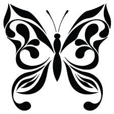 desenhos de borboletas preto e branco - Pesquisa Google