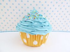 BABY BOY photo props cupcake - fake cupcake for photography session shoot props boy first birthday pictures cupcake blue icing unique gifts Baby Boy Cupcakes, Fake Cupcakes, Cupcakes For Boys, First Birthday Pictures, Boy First Birthday, Blue Icing, Baby Boy Photos, Unique Gifts, Handmade Gifts