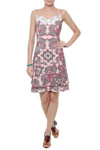 Vestido Paisley Pink Berry