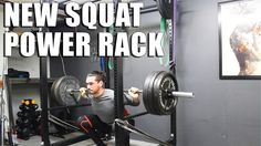 NEW #Squat Power Rack | Meta #Kinesiology Tape. #homegym #fitness #workouts #youtube #training #powerlifting #strength