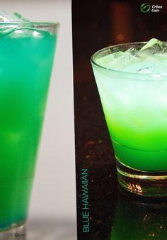 Blue Hawaiian Blue Hawaiian, Pint Glass, Beer, Urban, Drinks, Tableware, Drinking, Ale, Beverages