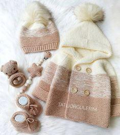 Baby Knitting Patterns, Baby Booties Knitting Pattern, Knitting Blogs, Knitting Designs, Baby Scarf, Baby Blanket Crochet, Crochet Baby, Baby Costumes, Crochet Fashion