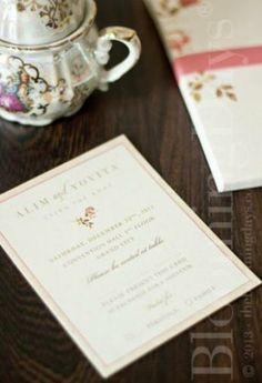 Bloomingdays Invitation at www.bridestory.com #weddinginspiration #weddingideas #bridestory
