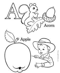 Adorable Preschool Coloring Pages