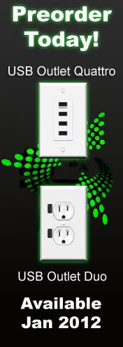 Another USB Outlet (I like this one the best - saw it at iWorld)