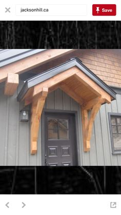 Match trusses and frame.