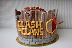 Clash Games provides latest Information and updates about clash of clans, coc updates, clash of phoenix, clash royale and many of your favorite Games Clash Of Clans, Torta Clash Royale, 8th Birthday, Birthday Cakes, Birthday Ideas, Royal Cakes, Character Cakes, Fondant Cakes, Cake Art