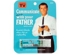 COMMUNICATE WITH YOUR DAD BREATH SPRAY $4.99
