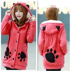 lovely bear hoodies 2 colors