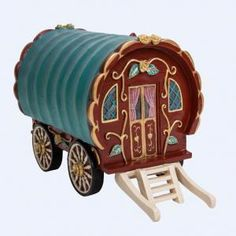Red Gypsy Caravan Gypsy Caravan, Building A House, Red, Home, Gypsy Wagon, Ad Home, Homes, House, Rouge