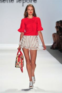 Nanette Lepore Spring 2014 - sleeves!
