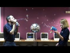 Static Electricity and Bubbles! - YouTube