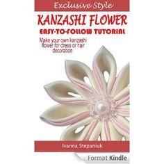 Kanzashi Tutorial - How to Make a Kanzashi Fabric Flower