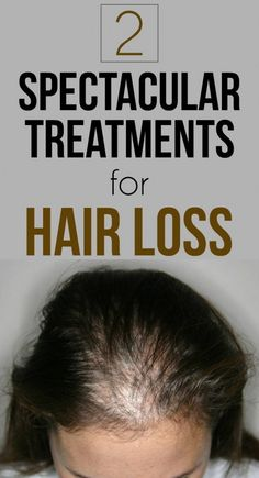 Read and learn two spectacular natural treatments for hair loss.