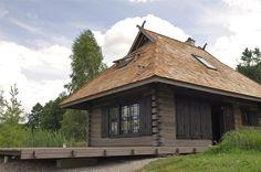 Log cabin. Guļbūve.