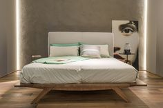 Showroom Parma #Bertani #bed