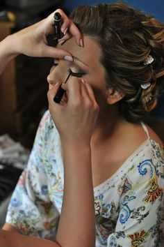 Bridal makeup#roulabesiri
